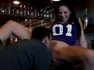 Lucky client licking hot and hairy Gianna Michaels