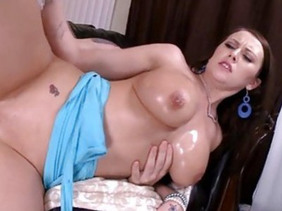 Naughty playgirl is having pleasure with her bf