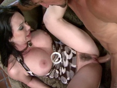 Angry Mom fucks horny guy