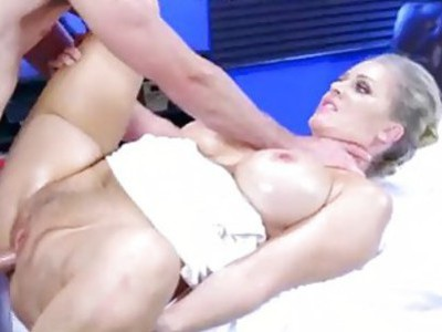 Hot milf Alena Croft takes a cock in her ass