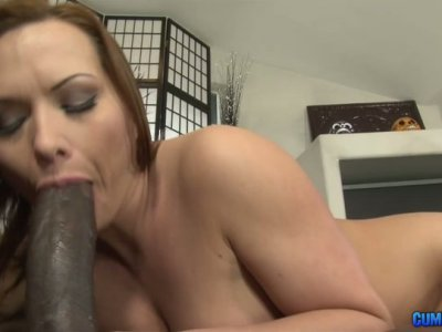 Naughty chubby slut Katja Kassin gets her asshole torn apart by huge BBC