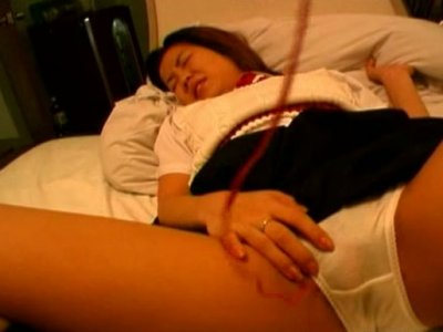 Maki Kimura is about to cum