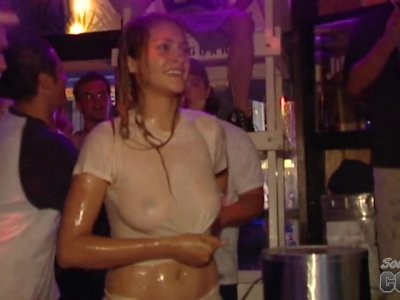 Full Nude White Trash Bash Hot Chick Wrestling - SouthBeachCoeds