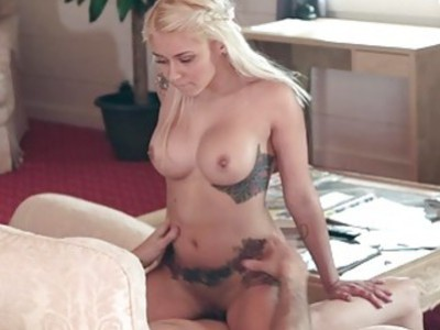 ExxxtraSmall Blonde Daughter Fucks Her StepDad