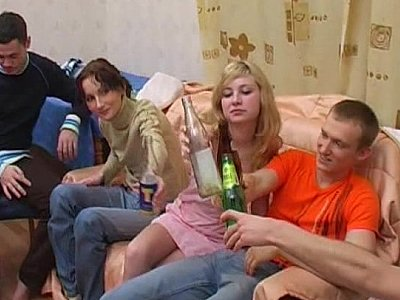 Russian student party