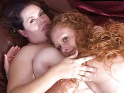 Fat Gal Gets Strap On In Her Twat From Thing Girl