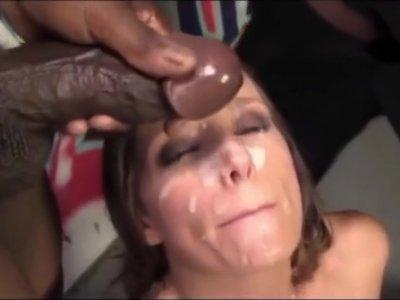 Interracial Orgy Gangbang PMV