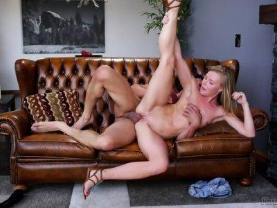 Massive Cock In Her Pussy - Nicole Clitman