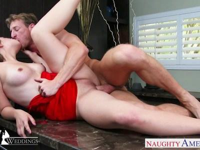 Sexy Jillian Janson gets fucked at a wedding