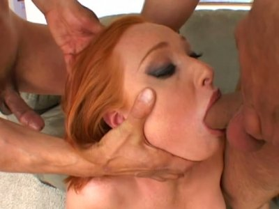 Double dick penetration is what spoiled chick Vixen Vogel desires to get