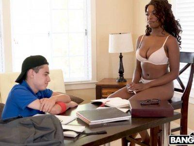 Hot Ebony Teacher's Plan