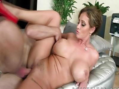 Busty hottie Eva Notty pounded hard