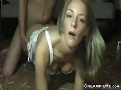 Dirty Blonde Fucked Doggystyle