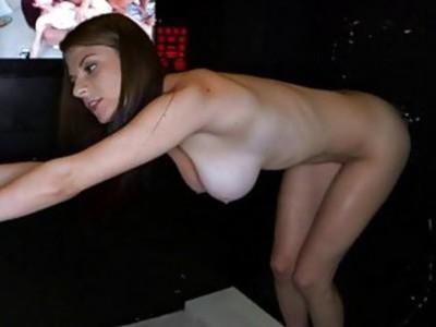 Charming chick is having fun sucking a thick jock