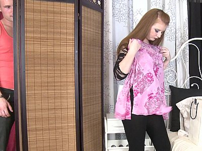 Chubby Russian getting brutally fucked