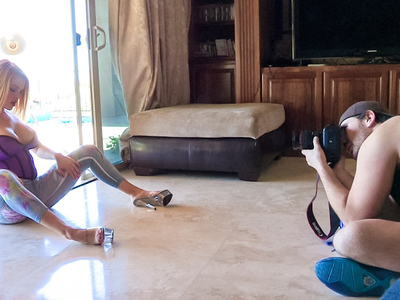 Behind the Scene with a pornstars