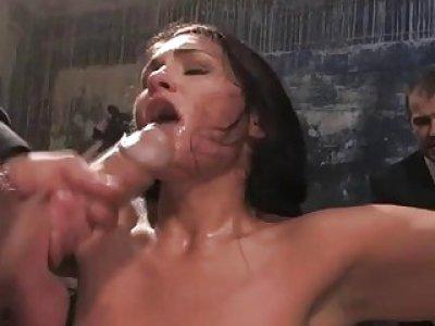 Busty sexy sexy gal