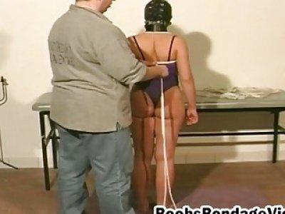 Fat cock guy captive amateur brunette ladies for threesome bondage