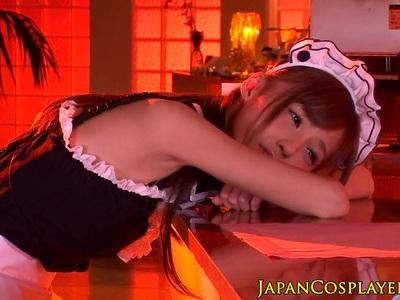 Cosplay fantasy babe misaki ayuzawa gives bj