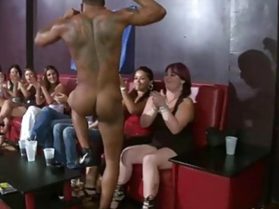 Huge ratio of horny women vs big cocks available in the room