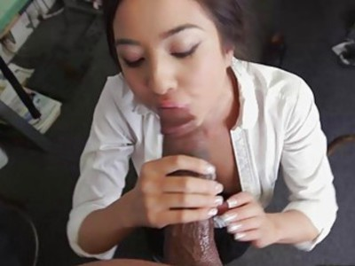 Mila Jade takes two giant cocks in her pussy and ass